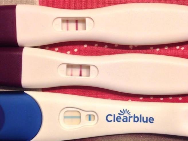 test embarazo positivo